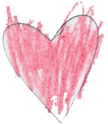 Heart drawing by: Michael D., Age 10, North Bergen, New Jersey