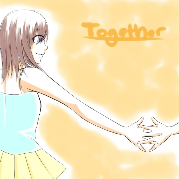 Together digital painting by: tacypoc