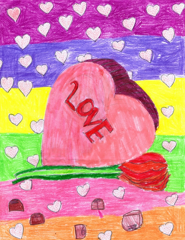 Drawing by: Alejandra M., Age 10, Wellington, Florida
