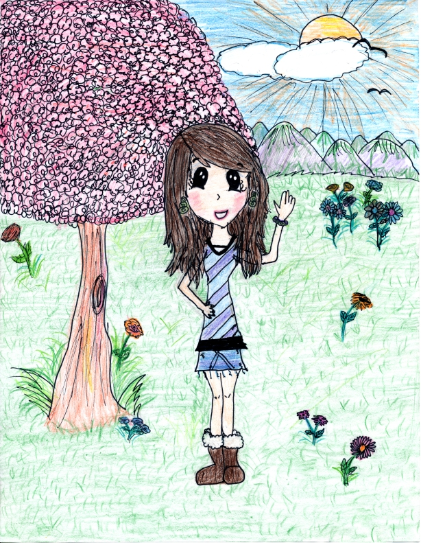 Drawing by: Beraca B., Age 10, Vero Beach, Florida