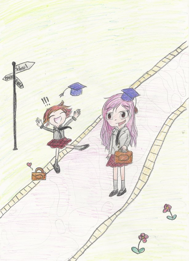 Graduation drawing by: ssukhanindr